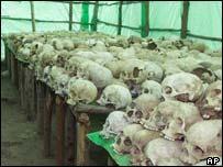 genocide scene in Rwanda