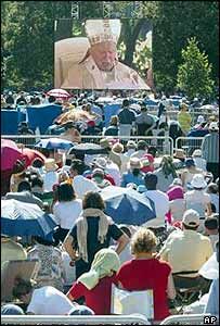 The papal Mass at Lourdes