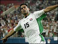 Iraq substitute Mahdi Karim