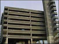 "Gateshead ""Get Carter"" car park"