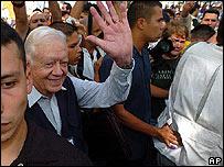 El ex presidente de EE.UU. Jimmy Carter