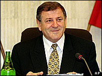 Vladimir Meciar, prime minister for most of the mid-1990s