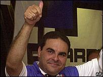 Tony Saca, presidente electo de El Salvador.