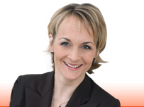 BBC News 24 presenter Louise Minchin