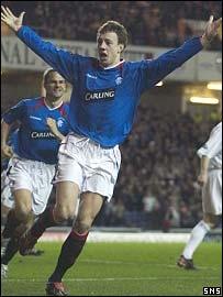 Rangers defender Alan Hutton