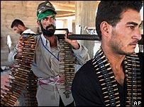 Members of Moqtada Sadr's Mehdi Army in Najaf