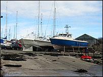 Boats at Beaumaris