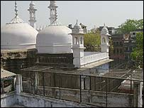The Gyanvapi mosque in Benaras