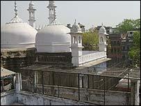 The Gyanvapi mosque in Benaras