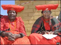Herero women from Namibia, AP