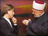 Grand Mufti of Bosnia, Dr Mustafa Ceric.