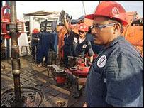 Trabajadores petroleros venezolanos