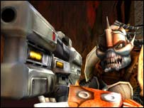 Screenshot from Unreal Tournament 2003, Atari