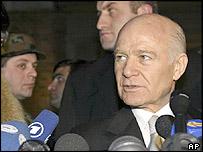 Ajaria's leader Aslan Abashidze