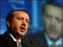 رئيس وزراء تركيا رجب أردوغان