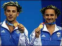 Nikolaos Siranidis (left) and Thomas Bimis (right)