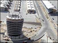 Sakhir circuit in Bahrain