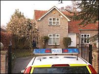 Police raid at a house in King's Lynn, Norfolk