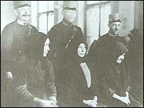 Arrested women