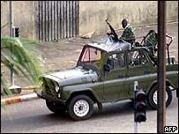 Ivorian patrol