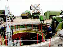 Ukrainian missile silo