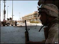 US troops in Najaf