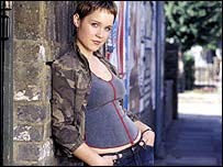 Scarlett Johnson as Vicki Fowler in EastEnders