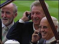 Danny McGrain, Denis Law, and Willie Henderson