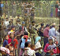 Maoists in rural Nepal