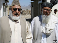 Tribal elders in South Waziristan
