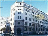 Centro gallego en Buenos Aires.
