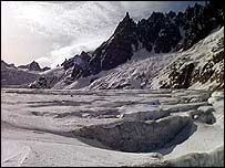 French glacier   PA