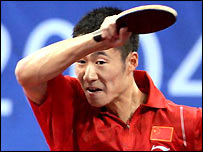 Wang Hao cruised through to the fourth round