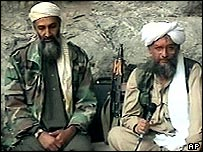 Osama Bin Laden and Dr Ayman al-Zawahri