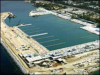The Agios Kosmas Olympic Sailing Centre