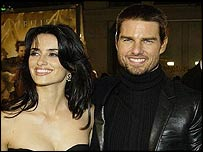 Penelope Cruz and Tom Cruise