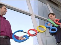 Google founders, Larry Page and Sergey Brin
