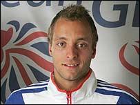 British swimmer James Goddard