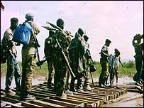 Rwandan People's Front soldiers