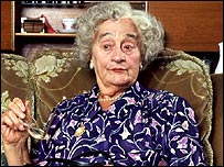 Liz Smith as gran in the Royle Family