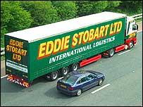Eddir Stobart lorry
