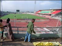 Ghana's Accra stadium
