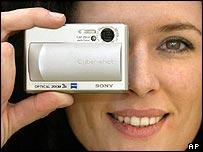 Sony camera at Cebit