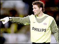 Former PSV Eindhoven keeper Ronald Waterreus