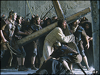 A scene from The Passion of The Christ