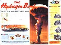hydrogen bomb poster