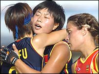 China women's hockey team