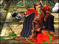 Screenshot from Warcraft III, Vivendi