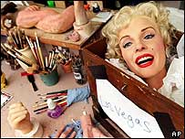 Marilyn Monroe head for Madame Tussauds in Las Vegas