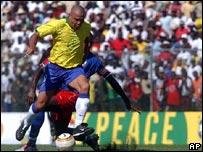 """Ronaldo, en en el """"Partido por la Paz"""""""